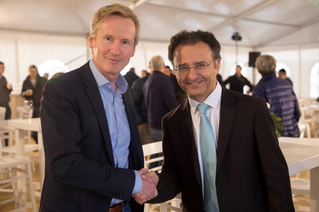 CEO Belectric Ingo Alpheus and CEO EDF Israel