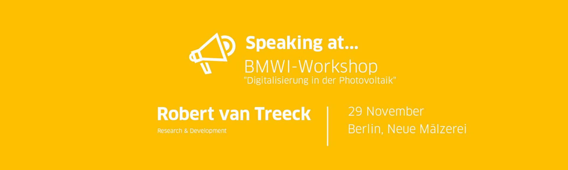 Robert van Treeck - BMWI-Workshop
