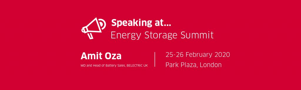 Energy storage summit Amit Oza