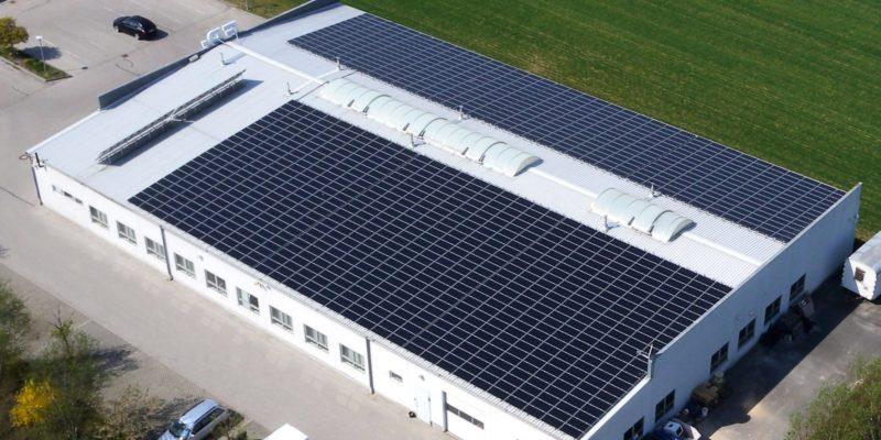 Gewerbe-PV-Dachanlage