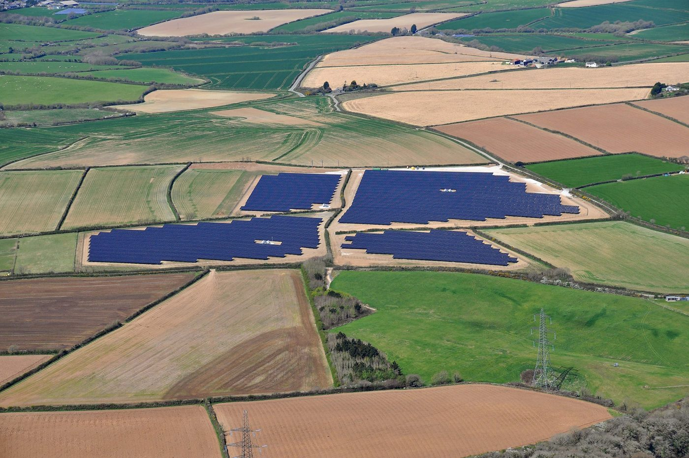 Wadebridge UK PV power plant
