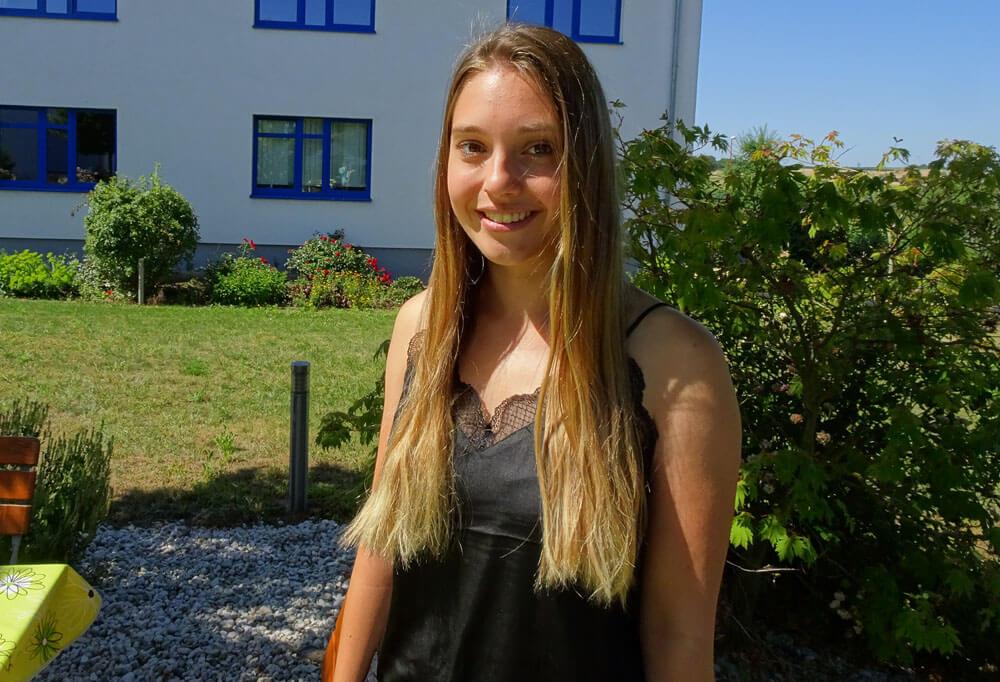 Franziska Meth, 21 Jahre, Auszubildende zur Kauffrau für Büromanagement