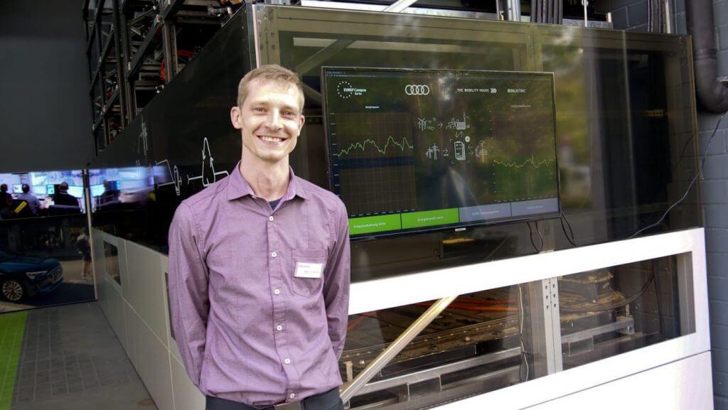 Martin Arndt, 32, Projektleiter für Batteriespeicher und Simulations-Softwareentwicklung bei BELECTRIC Dresden