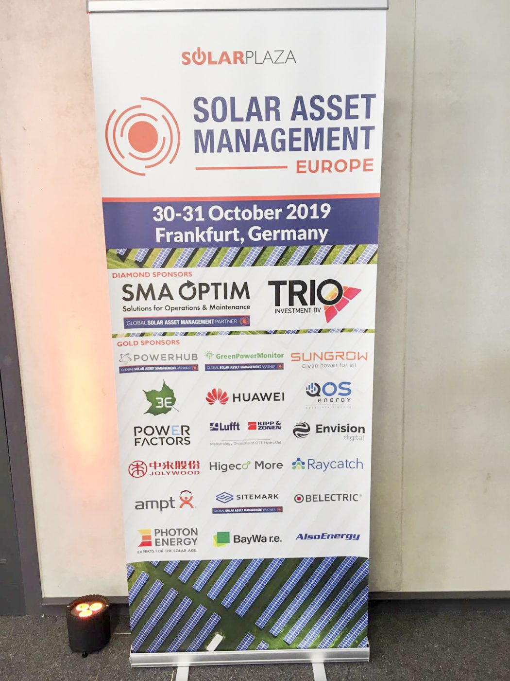 Belectric at Solar Asset Management 2019
