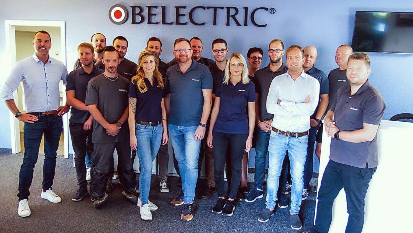Belectric PV Dach - Das Team